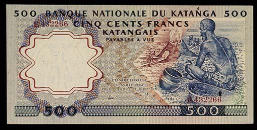 Katanga, Banque Nationale, a s