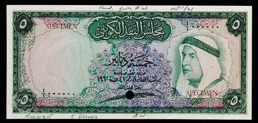 Kuwait, Currency Board, a set