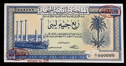 Libya, Treasury, specimen 5- a