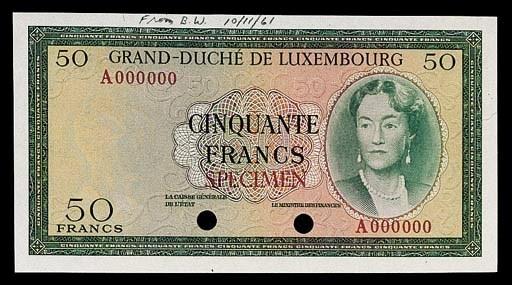 Grand Duché de Luxembourg, col