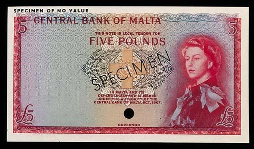 Malta, Central Bank, colour tr