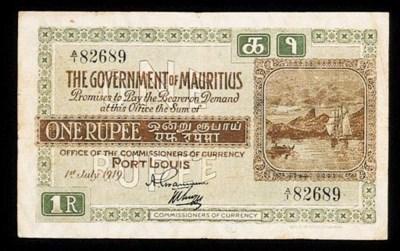 Government Issue, Rupee, 1 Jul