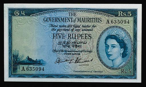 Government Issue, 5-Rupees (11