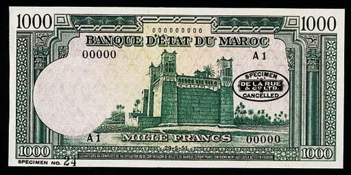 Morocco, Banque d'Etat du Maro