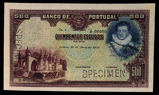 Banco de Portugal, specimen 50