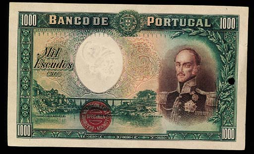 Banco de Portugal, specimen 10