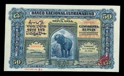 Portuguese India, Banco Nacion