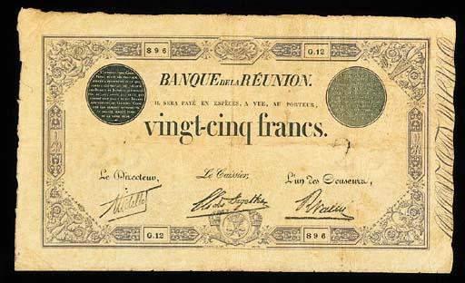 Banque de la Reunion, 25-Franc