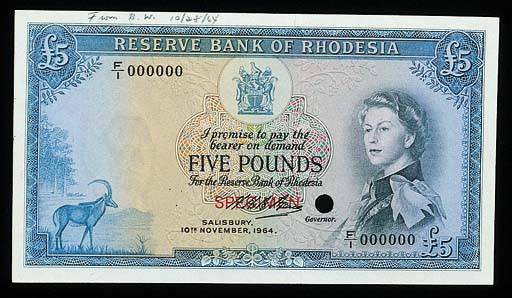 Reserve Bank of Rhodesia, a se
