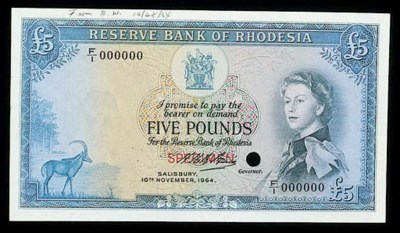 Reserve Bank of Rhodesia, a se