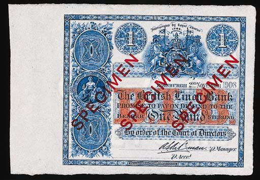 Scotland, British Linen Bank,