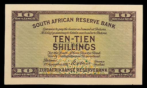 South Africa, Reserve Bank, ob
