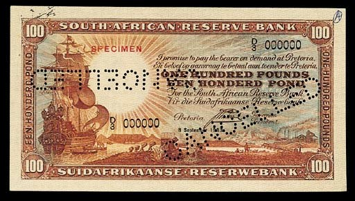 South Africa, Reserve Bank, co