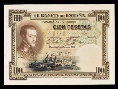 Spain, El Banco de Espana, col