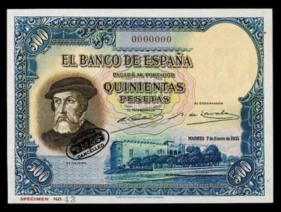 Spain, El Banco de Espana, spe