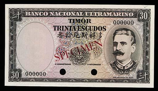 Timor, Banco Nacional Ultramar