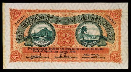 Trinidad and Tobago, specimen