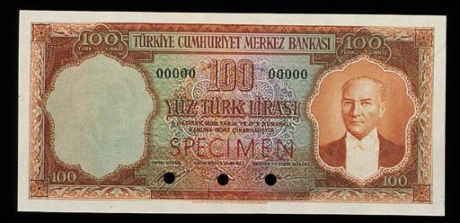 Turkey, Central Bank, a group