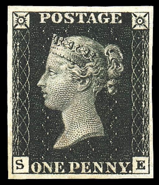1840 0ne Penny Black