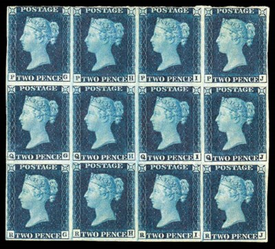 1840 Two Pence Blue