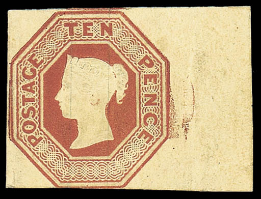 1847-54 Embossed Issue