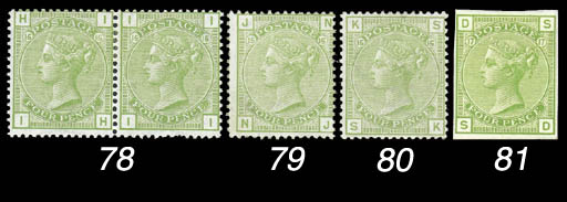 1855-1883 Surface Printed Issu