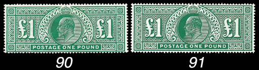 1902-10 King Edward VII Issues