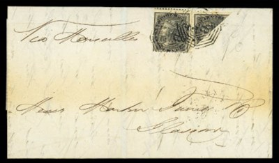 cover 1859 (21 Sept.) entire
