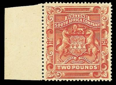 unused  1897 (Jan.) perf. 15 £
