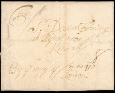 cover 1693 Campaign Letter fro
