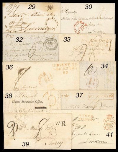 cover 1817 entire letter from