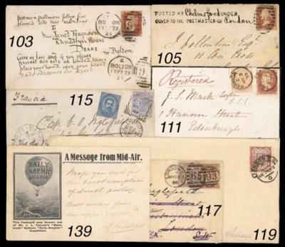 cover 1873 envelope bearing 18