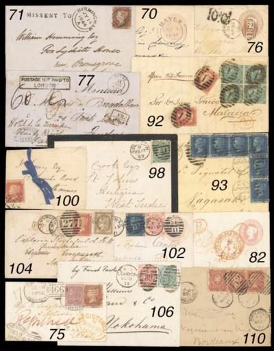 cover 1873 (19 Dec.) entire to