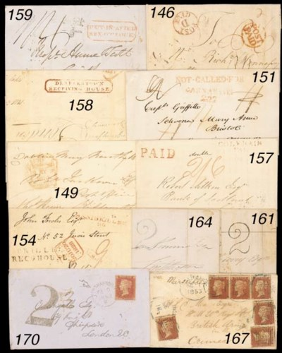 cover 1828 entire to Dublin, i