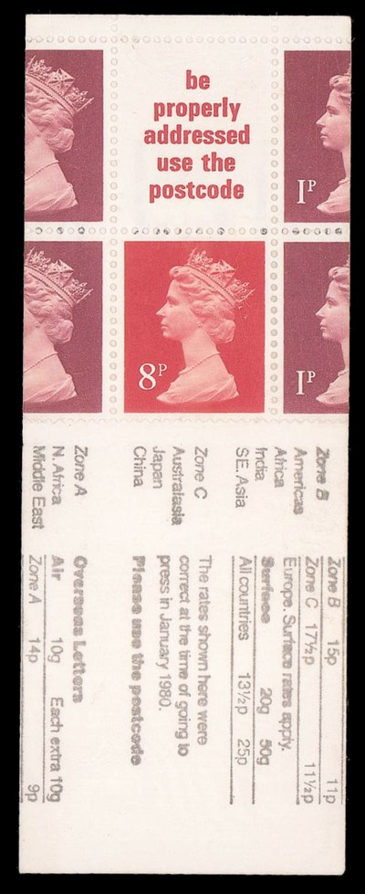 1979-80 10p. 'London 1980' boo