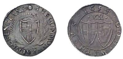Shilling, 1654 (ESC 990, S; S.