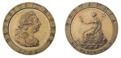 George III, pattern Farthing,
