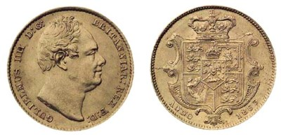 William IV, Sovereign, 1833, s