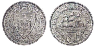 Weimar Republic, commemorative
