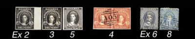 Proof  1861 4d. plate proof in