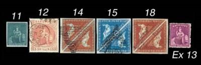 unused  1875-80 perf. 12½ 1/-