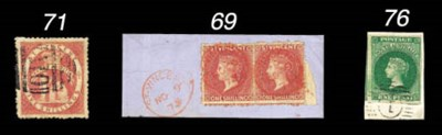used  1880 (June) 5/- rose-red
