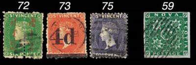 used  1881 ½d. on half 6d. bri