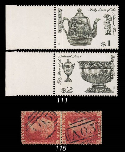 used  Great Britain 1857 1d. r