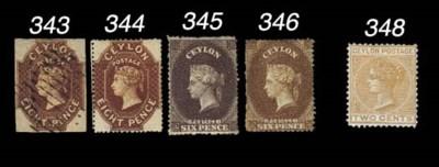 unused  1861-64 watermark Star