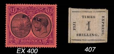 unused  1870-71 Fiji Times Exp