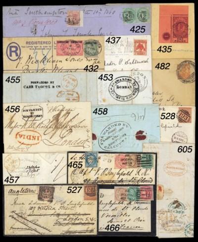 cover 1875 (Sept.) envelope (s