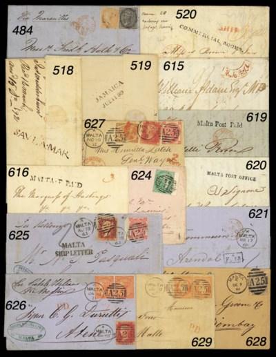 cover 1868 printed Shipping No