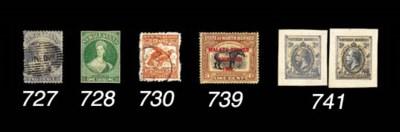 used  1902-09 perf. 11 1/- ora