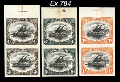 Proof  ½d. to 1/- set of seven